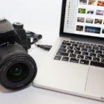 カメラとノートPC
